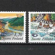 Sellos: FINLANDIA 1983 SERIE COMPLETA ** MNH NORDIC COOPERATION - 1/2. Lote 226745395