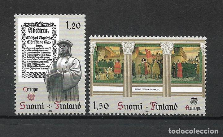 FINLANDIA 1982 SERIE COMPLETA ** MNH EUROPA CEPT - 1/2 (Sellos - Extranjero - Europa - Finlandia)