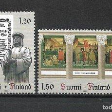 Sellos: FINLANDIA 1982 SERIE COMPLETA ** MNH EUROPA CEPT - 1/2. Lote 226745415