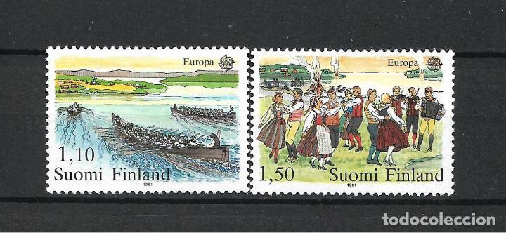 FINLANDIA 1981 SERIE COMPLETA ** MNH EUROPA CEPT - 1/2 (Sellos - Extranjero - Europa - Finlandia)