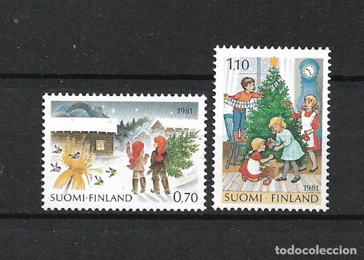FINLANDIA 1981 SERIE COMPLETA ** MNH NAVIDAD - 1/2 (Sellos - Extranjero - Europa - Finlandia)