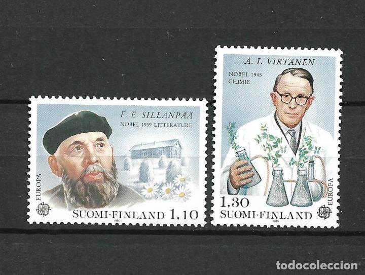 FINLANDIA 1980 SERIE COMPLETA ** MNH EUROPA CEPT - 1/2 (Sellos - Extranjero - Europa - Finlandia)