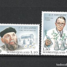 Sellos: FINLANDIA 1980 SERIE COMPLETA ** MNH EUROPA CEPT - 1/2. Lote 226745470