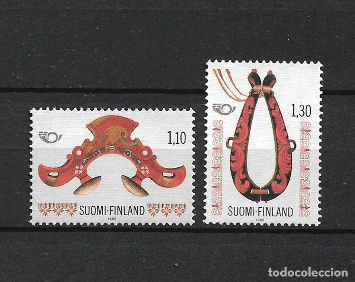 FINLANDIA 1980 SERIE COMPLETA ** MNH NORDIC COOPERATION - 1/2 (Sellos - Extranjero - Europa - Finlandia)