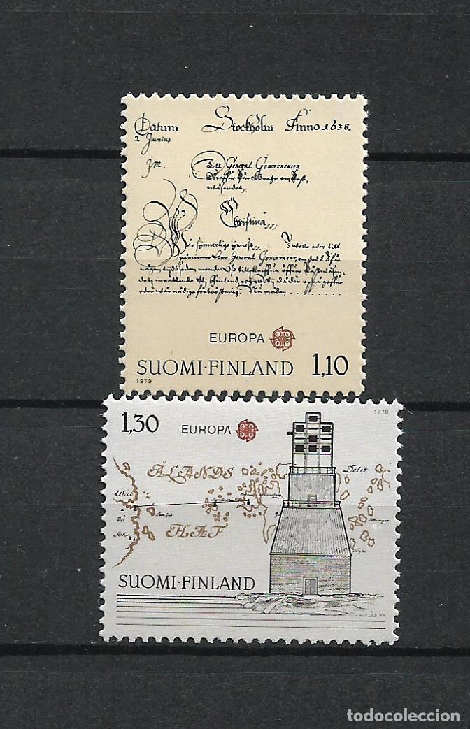 FINLANDIA 1979 SERIE COMPLETA ** MNH EUROPA CEPT - 1/2 (Sellos - Extranjero - Europa - Finlandia)