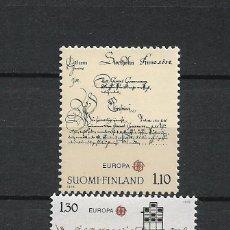 Sellos: FINLANDIA 1979 SERIE COMPLETA ** MNH EUROPA CEPT - 1/2. Lote 226745545