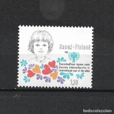 Sellos: FINLANDIA 1978 SERIE COMPLETA ** MNH INTERNATIONAL YEAR OF THE CHILD - 1/2. Lote 226745585