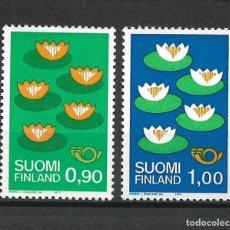 Sellos: FINLANDIA 1977 SERIE COMPLETA ** MNH - 1/2. Lote 226745640