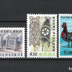 Sellos: FINLANDIA 1976-77 SERIE COMPLETA ** MNH - 1/2. Lote 226745775