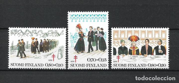 FINLANDIA 1976 SERIE COMPLETA ** MNH TUBERCULOSIS - 1/2 (Sellos - Extranjero - Europa - Finlandia)