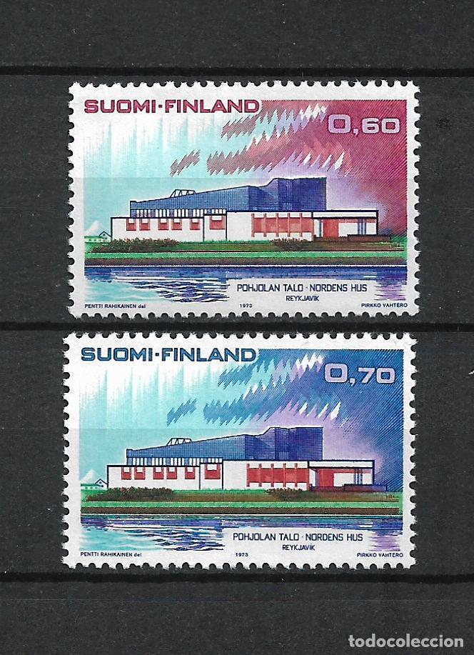FINLANDIA 1973 SERIE COMPLETA ** MNH - 1/2 (Sellos - Extranjero - Europa - Finlandia)