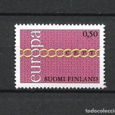 Sellos: FINLANDIA 1971 SERIE COMPLETA ** MNH EUROPA CEPT - 1/2. Lote 226745885