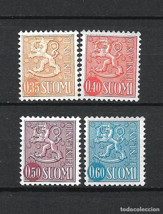FINLANDIA 1973-74 SERIE COMPLETA ** MNH SERIE BASICA - 1/2 (Sellos - Extranjero - Europa - Finlandia)