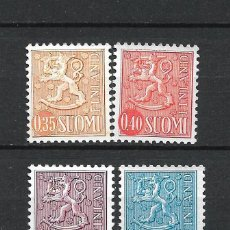 Sellos: FINLANDIA 1973-74 SERIE COMPLETA ** MNH SERIE BASICA - 1/2. Lote 226745910