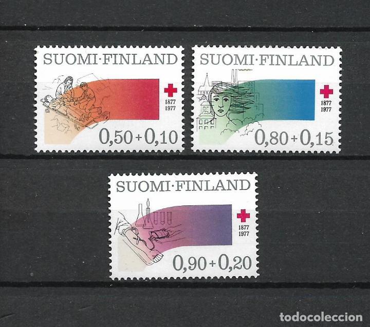 FINLANDIA 1977 SERIE COMPLETA ** MNH CRUZ ROJA - 1/2 (Sellos - Extranjero - Europa - Finlandia)