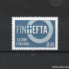 Sellos: FINLANDIA 1967 SERIE COMPLETA ** MNH EFTA - 1/2. Lote 226745955