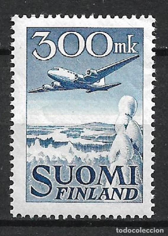 FINLANDIA 1950 SC C3 AIR POST ** MNH - 3/16 (Sellos - Extranjero - Europa - Finlandia)