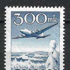 Sellos: FINLANDIA 1950 SC C3 AIR POST ** MNH - 3/16. Lote 148083878