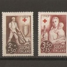 Sellos: FINLANDIA. 1941. YT 225/228. CRUZ ROJA. Lote 228487605