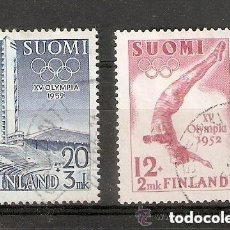 Sellos: FINLANDIA. 1951 YT 382 ,383. Lote 228487875