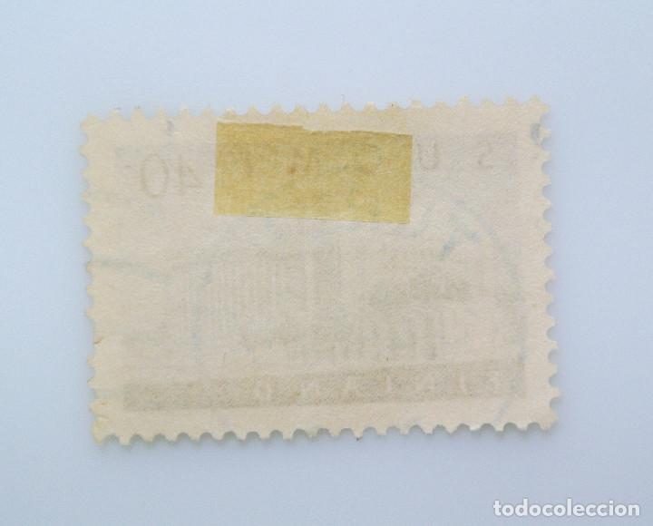 Sellos: SELLO POSTAL FINLANDIA 1956, 40 mk , CASA DEL PARLAMENTO, USADO - Foto 2 - 229912080