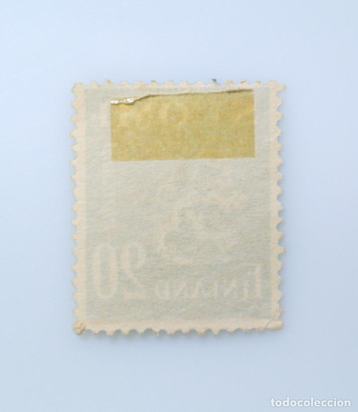 Sellos: SELLO POSTAL FINLANDIA 1950, 20 mk , ESCUDO DE ARMAS 1930, USADO - Foto 2 - 229914860