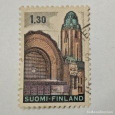 Sellos: FINLANDIA. SELLO USADO 1,30 MK, 1971, EST. CENTRAL HELSINKI. ENVÍO GRATIS POR PEDIDOS DE 3€ Ó MÁS.. Lote 232323805