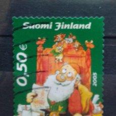 Sellos: FINLANDIA 2005 NAVIDAD SELLO USADO. Lote 269763208
