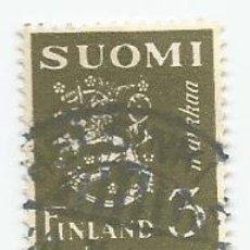 Sellos: SELLO USADO DE FINLANDIA DE 1930- ESCUDO DE ARMAS- YVERT 152- VALOR 3 MARCOS. Lote 234844465