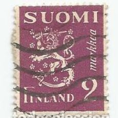 Sellos: 8 SELLOS USADOS DE FINLANDIA DE 1932- ESCUDO DE ARMAS - YVERT 151- VALOR 2 MARCOS. Lote 234850590