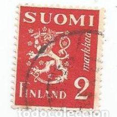 Sellos: 6 SELLOS USADOS DE FINLANDIA DE 1936- ESCUDO DE ARMAS- YVERT 192- VALOR 2 MARCOS. Lote 234920300