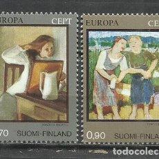 Sellos: 8197B-MNH** SERIE COMPLETA FINLANDIA SUOMI FINLAND EUROPA 1975 Nº728/9.. Lote 235554155