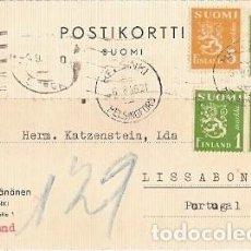 Sellos: FILANDIA & MARCOFILIA, HELSINKI, HELSINGFORS A LISBOA 1946 (76888). Lote 243258415