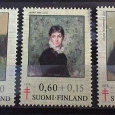 Sellos: FINLANDIA, A FAVOR DE LA TUBERCULOSIS. Lote 244994890