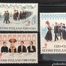 Sellos: FINLANDIA, A FAVOR DE LA TUBERCULOSIS. Lote 244996730