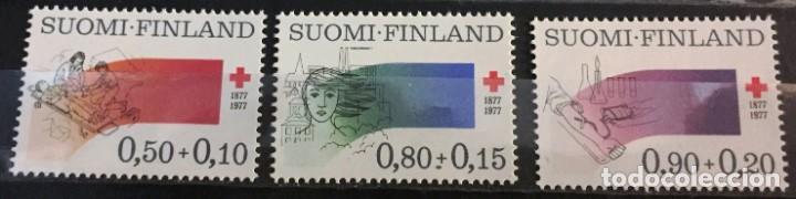 FINLANDIA, A FAVOR DE LA CRUZ ROJA (Sellos - Extranjero - Europa - Finlandia)
