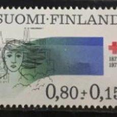 Sellos: FINLANDIA, A FAVOR DE LA CRUZ ROJA. Lote 244997210