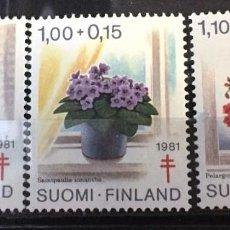 Sellos: FINLANDIA, A FAVOR DE LA TUBERCULOSIS. Lote 245001700