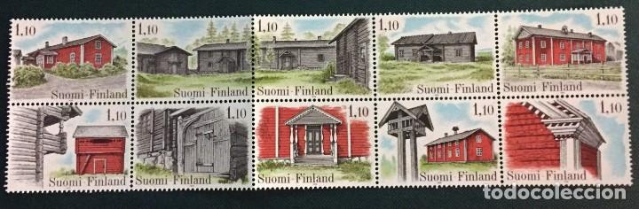 FINLANDIA, ARQUITECTURA DEL PAIS (Sellos - Extranjero - Europa - Finlandia)
