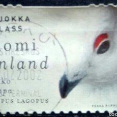 Sellos: FINLANDIA 2000 AVES SELLO USADO. Lote 245156535