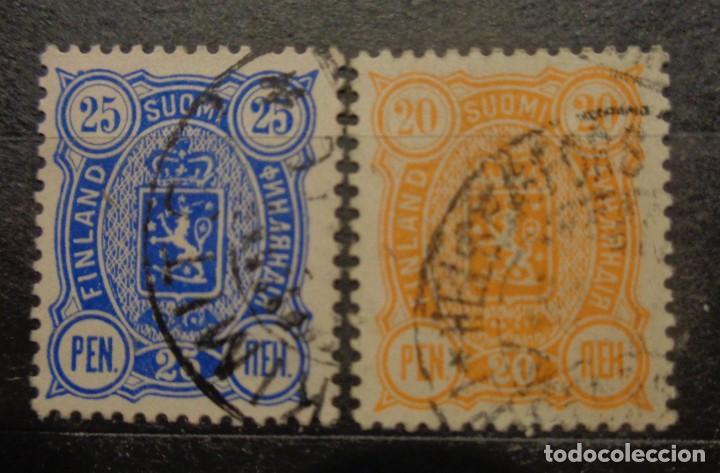 FINLANDIA 1875 /1881 (Sellos - Extranjero - Europa - Finlandia)