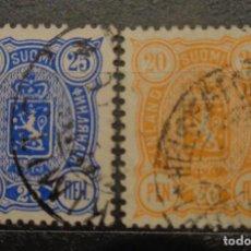 Sellos: FINLANDIA 1875 /1881. Lote 247396380