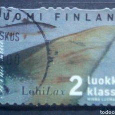 Francobolli: FINLANDIA TIBURONES SELLO USADO. Lote 251122475