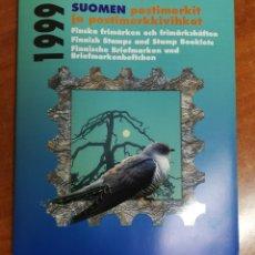 Sellos: FINLANDIA, CARPETA OFICIAL DE CORREOS AÑO 1999 COMPLETO MNH**(FOTOGRAFÍA REAL). Lote 251228755