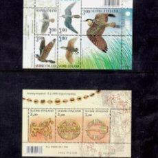 Sellos: FINLANDIA, AÑO 1999 COMPLETO Y NUEVO MNH*(FOTOGRAFÍA REAL). Lote 251437540