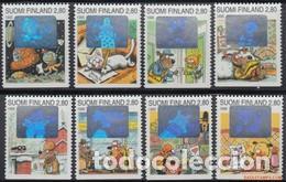 SELLOS USADOS DE FINLANDIA 1995, YT 1242/ 49 (Sellos - Extranjero - Europa - Finlandia)
