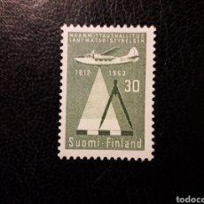 Sellos: FINLANDIA YVERT A-10/1 SERIE COMPLETA NUEVA *** 1963 AVIONES. AVIACIÓN PEDIDO MÍNIMO 3€. Lote 260594900