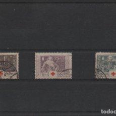 Sellos: SERIE COMPLETA USADA DE FINLANDIA DE 1934. TEMA CRUZ ROJA. Lote 262008720