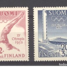 Sellos: SELLOS NUEVOS CON LIGERAS MARCAS DE CHARNELAS DE FINLANDIA 1951, YT 382/ 83. Lote 262026155