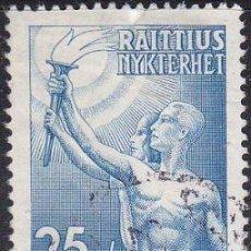 Sellos: SELLO USADO DE FINLANDIA 1953, YT 399. Lote 262028260